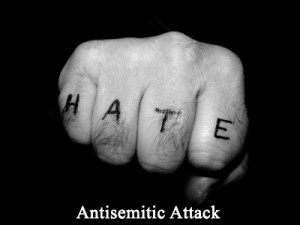 Anti-semitic attack