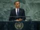 U.S. President Barack Obama addresses the 67th United Nations General Assembly at the U.N. headquarters in New York September 25, 2012. REUTERS/Mike Segar (UNITED STATES  - Tags: POLITICS)   ORG XMIT: UNA121